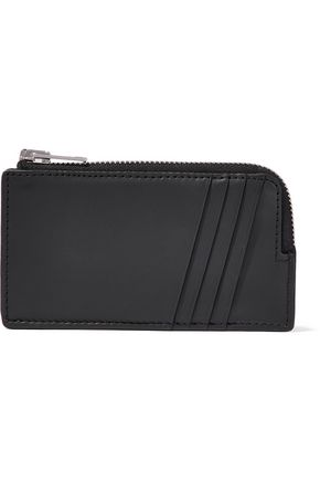 ALEXANDER WANG Embossed leather cardholder