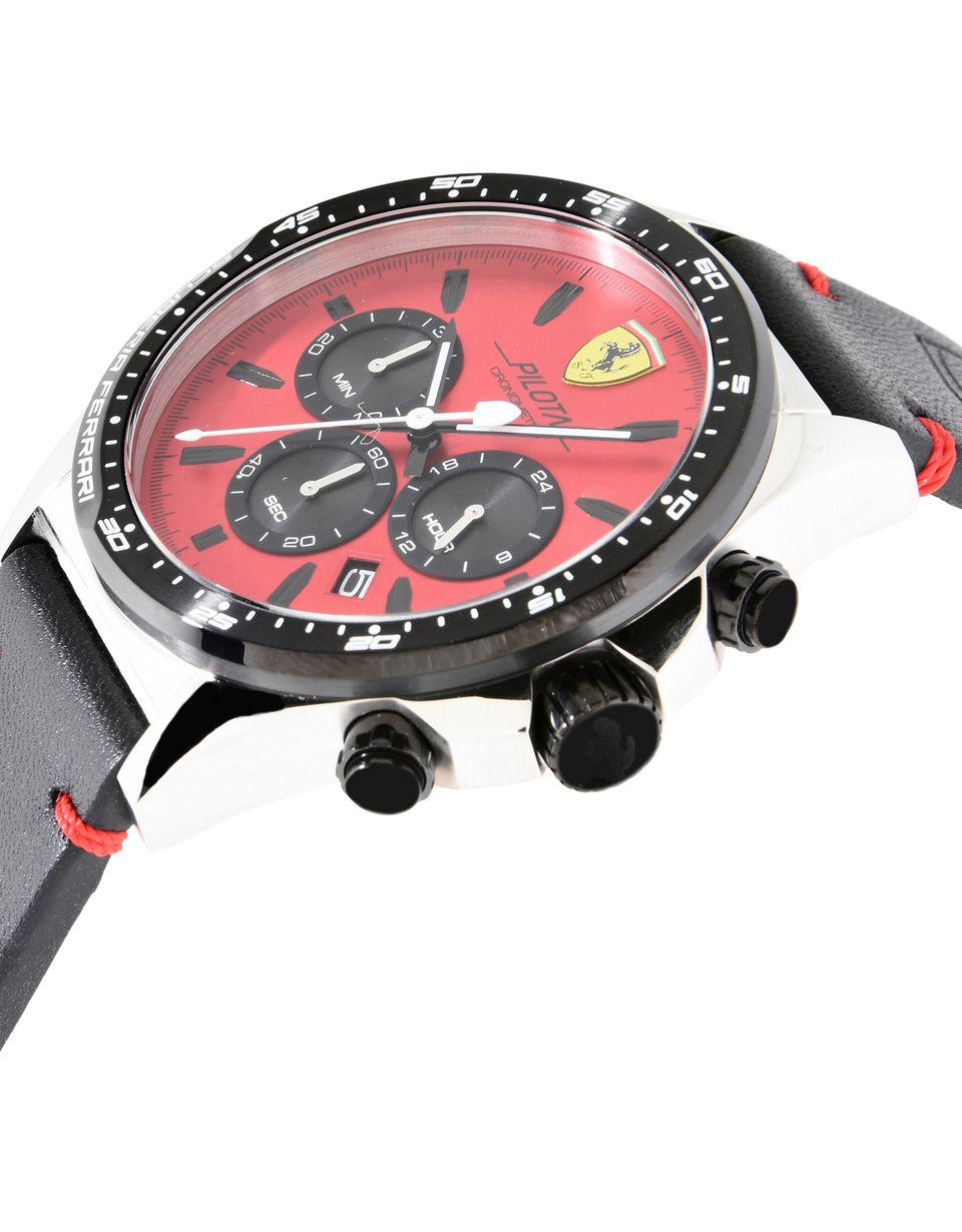 Scuderia Ferrari Online Store - Pilota Chronograph Watch - Quartz Watches
