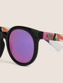 ARMANI EXCHANGE STREET ART SERIES VALENTINA BROSTEAN ROUND SUNGLASSES Sunglass Woman d