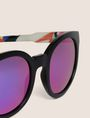 ARMANI EXCHANGE STREET ART SERIES VALENTINA BROSTEAN ROUND SUNGLASSES Sunglass Woman e