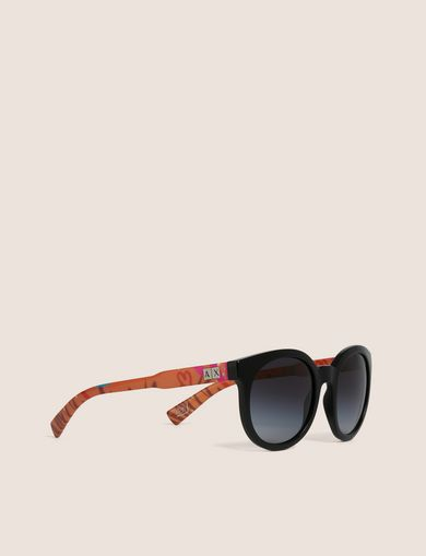 STREET ART SERIES LOX ROUND SUNGLASSES