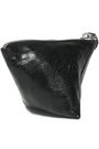 McQ Alexander McQueen Embossed cracked-leather coin purse
