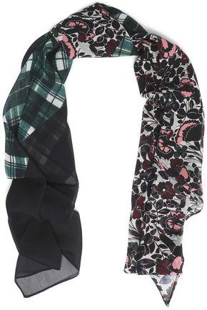 McQ Alexander McQueen Printed silk scarf
