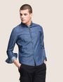 ARMANI EXCHANGE Denim Shirt Man a