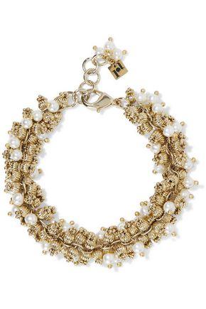 ROSANTICA Rigoletto gold-tone pearl bracelet