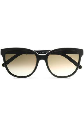 CHLOÉ D-frame acetate and gold-tone sunglasses