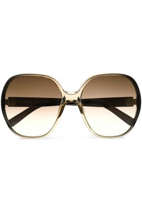 CHLOÉ Square-frame acetate sunglasses
