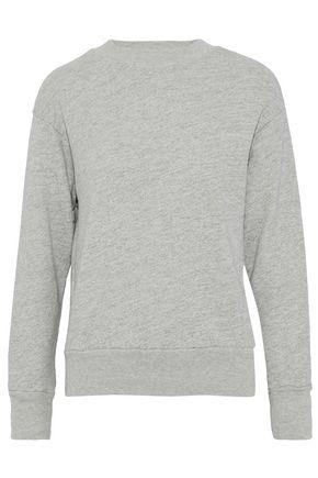 MONROW Cotton-blend terry sweatshirt