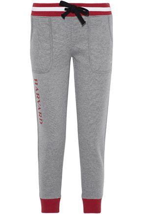 NUYU Printed jersey track pants