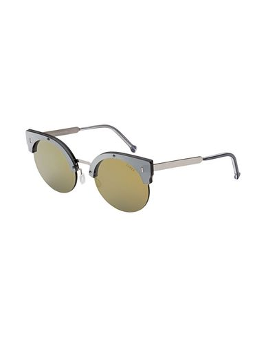 Фото - Солнечные очки от SUPER by RETROSUPERFUTURE свинцово-серого цвета