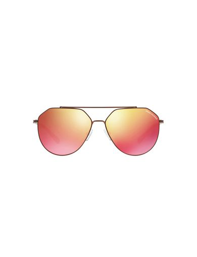 MIRRORED GEO TORTOISE AVIATOR