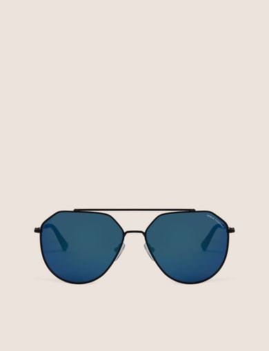 BLUE MIRROR WIRE AVIATOR