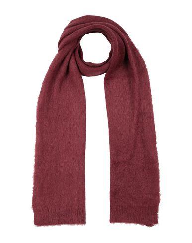 Фото - Женский шарф  красно-коричневого цвета