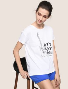 ARMANI EXCHANGE T-shirt graphique Femme a