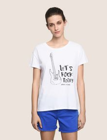 ARMANI EXCHANGE T-shirt graphique Femme f