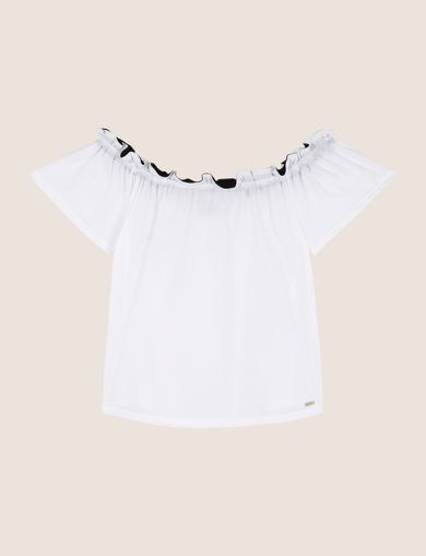 ARMANI EXCHANGE S/S Knit Top Woman R