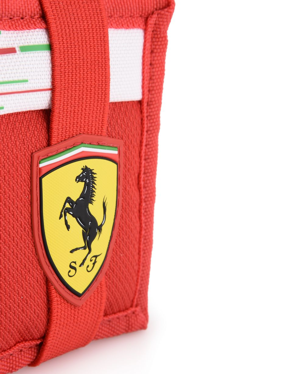 Scuderia Ferrari Online Store - Replica Scuderia Ferrari wallet - Horizontal with coin Wallets