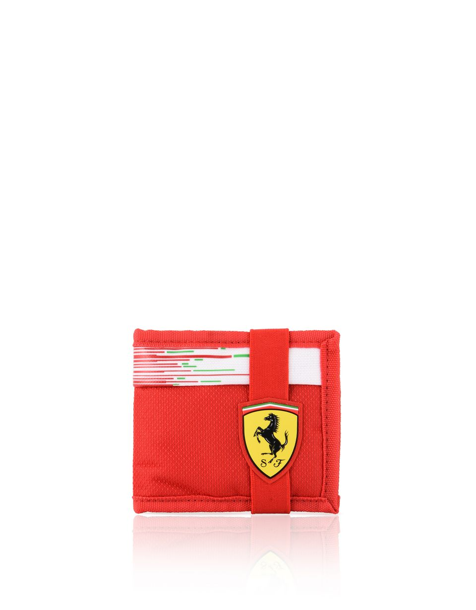 Scuderia Ferrari Online Store - Portafoglio Scuderia Ferrari Replica - Horizontal with coin Wallets