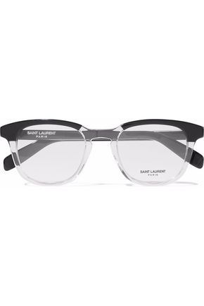 58ce4991d10 D-frame two-tone acetate optical glasses | SAINT LAURENT | Sale up ...