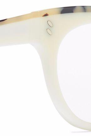 STELLA McCARTNEY Cat-eye tortoiseshell acetate optical glasses