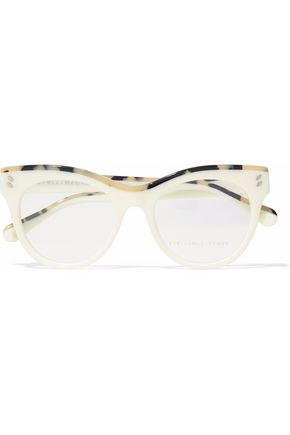 STELLA McCARTNEY Cat-eye tortoiseshell acetate optical glasses