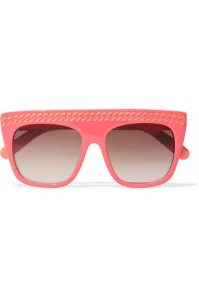 STELLA McCARTNEY Falabella D-frame acetate sunglasses