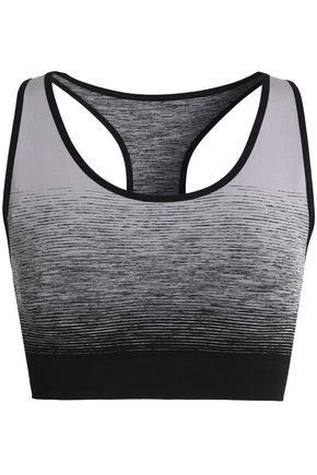 PEPPER & MAYNE Ombre Goddess dégradé tech-jersey sports bra