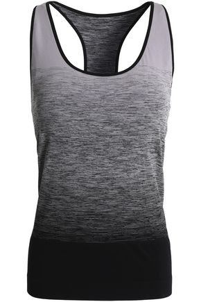 PEPPER & MAYNE Ombre Goddess dégradé tech-jersey tank