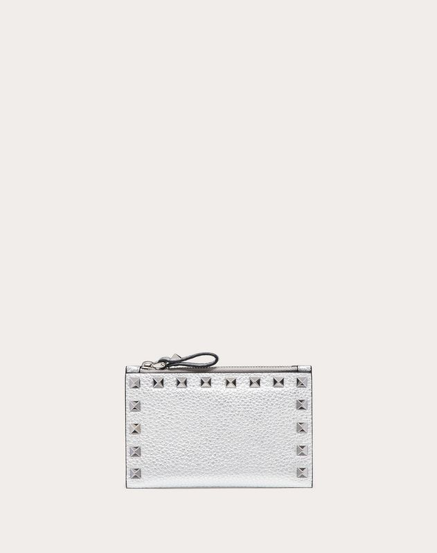 Metallic Rockstud Pocket Wallet