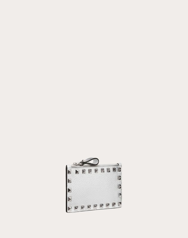Metallic Rockstud Card Case