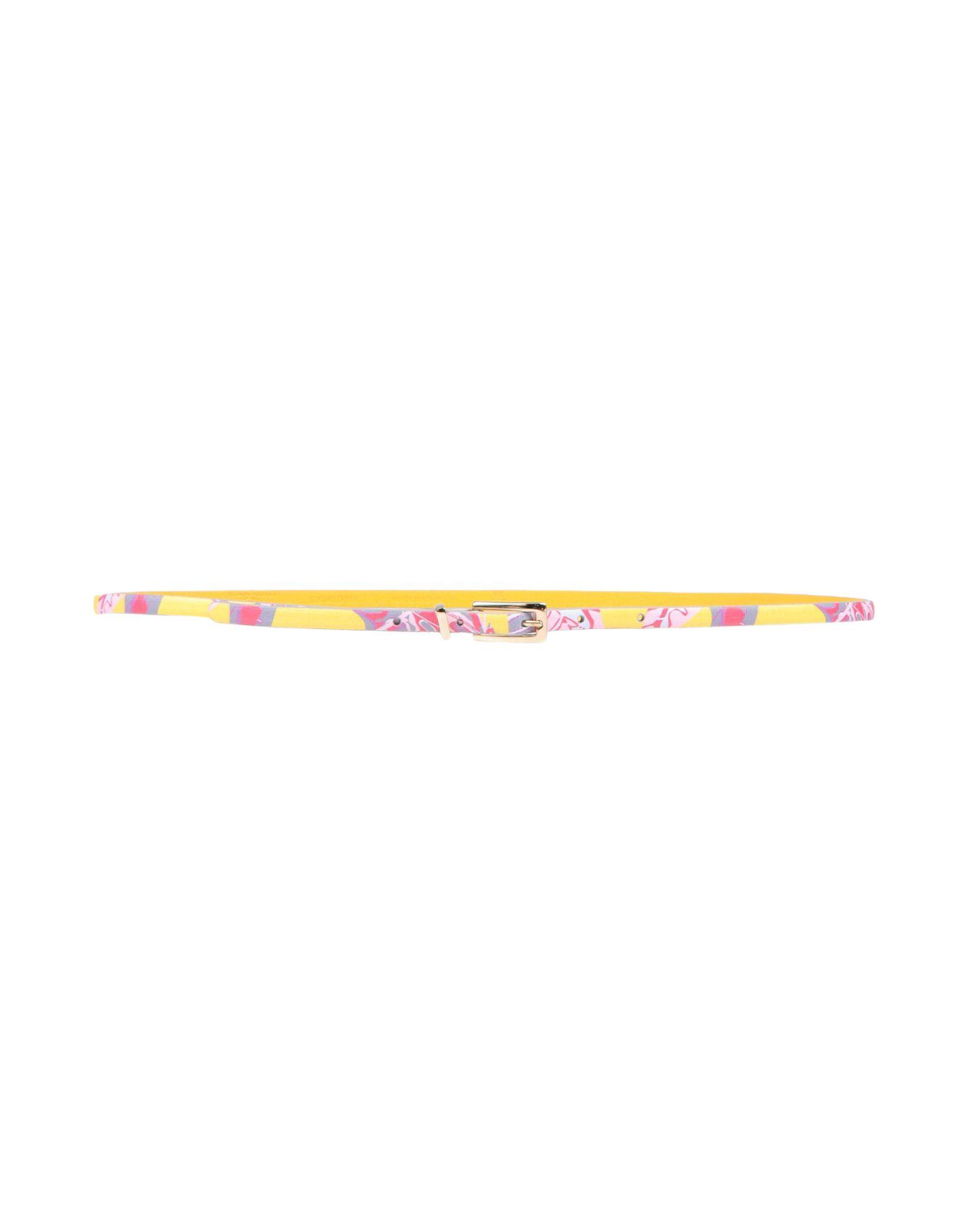 《送料無料》NANNINI レディース ベルト ピンク 85 革