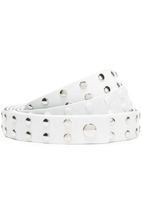 IRO Studded leather belt