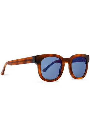 THIERRY LASRY D-frame tortoiseshell acetate mirrored sunglasses