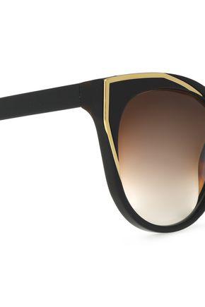 THIERRY LASRY Cat-eye acetate sunglasses