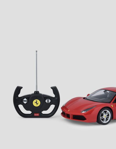 Ferrari 488 GTB remote controlled model car in 1:14 scale