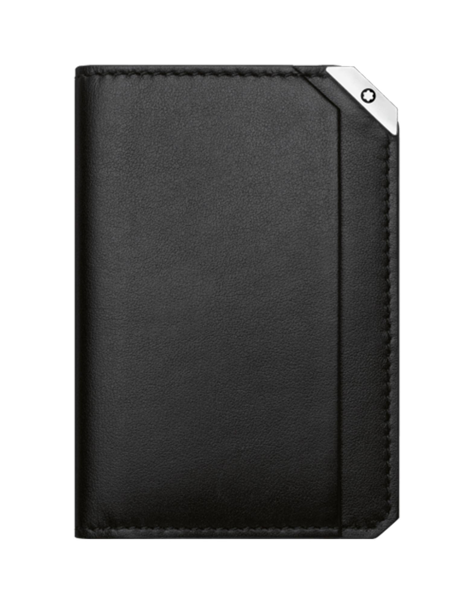 《送料無料》MONTBLANC メンズ ドキュメントホルダー ブラック 牛革(カーフ) 100% URBAN SPIRIT BUSINESS CARD HOLDER