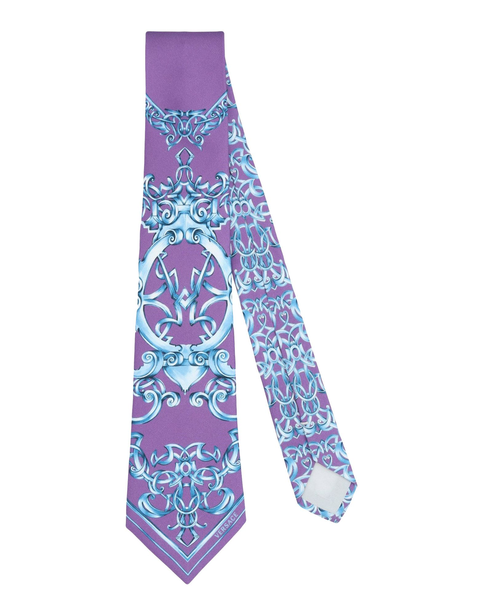 GIANNI VERSACE Галстук versace бордовый галстук в клетку внизу с логотипом versace 821752 href