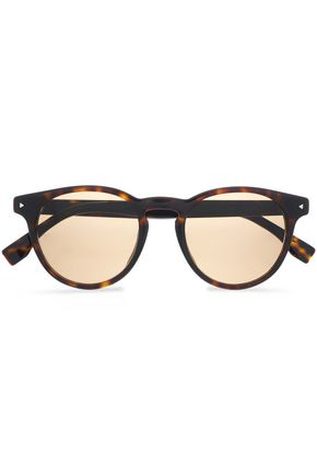 FENDI D-frame tortoiseshell acetate sunglasses