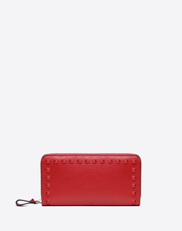 Brieftasche Rockstud mit Reißverschluss