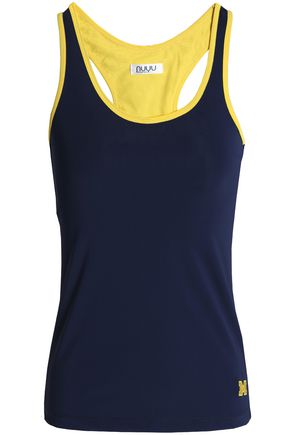 NUYU Embroidered stretch tank
