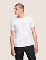 ARMANI EXCHANGE GEOMETRIC MIX CREWNECK TEE Logo T-shirt Man f