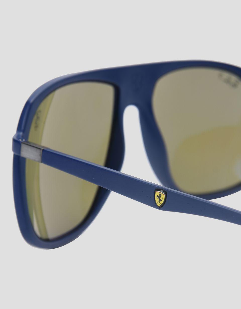 Scuderia Ferrari Online Store - Солнцезащитные очки 0RB4308M от Ray-Ban для Scuderia Ferrari синего цвета - Солнцезащитные очки
