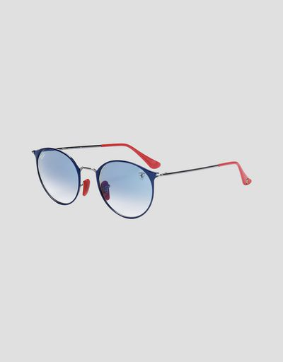 Ray-Ban x Scuderia Ferrari RB3602M blue and gunmetal sunglasses