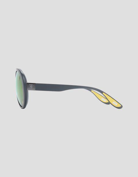 Scuderia Ferrari Online Store - Ray-Ban x Scuderia Ferrari 0RB4310M gray sunglasses - Sunglasses