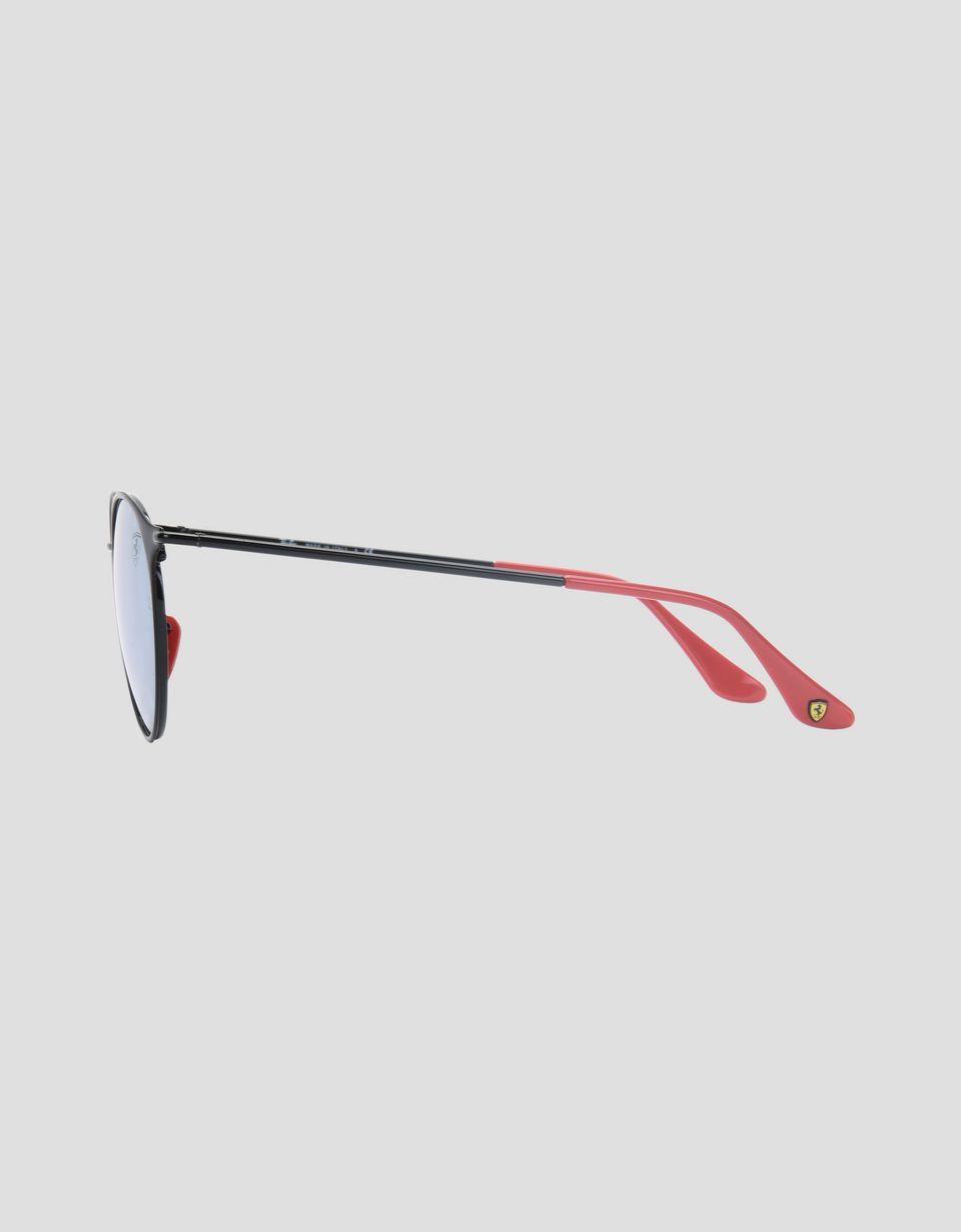 Scuderia Ferrari Online Store - Lunettes de soleil Ray-Ban pour Scuderia Ferrari RB3602M couleur noir - Lunettes de soleil