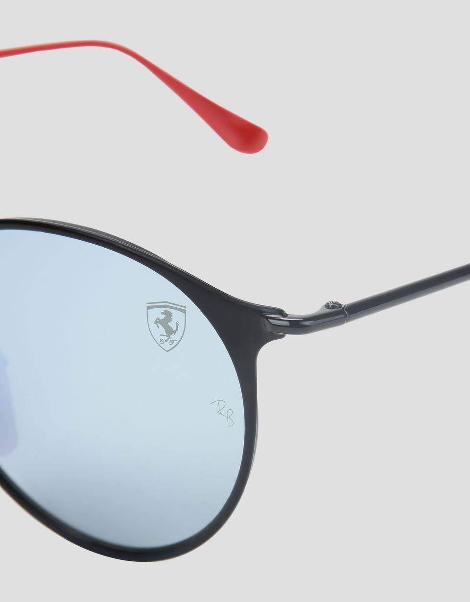Scuderia Ferrari Online Store - Солнцезащитные очки RB3602M от Ray-Ban для Scuderia Ferrari чёрного цвета - Солнцезащитные очки