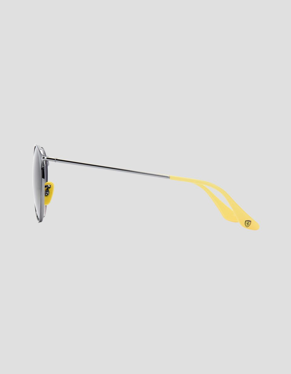 Scuderia Ferrari Online Store - Ray-Ban for Scuderia Ferrari RB3602M Grau und Metallgrau - Sonnenbrillen