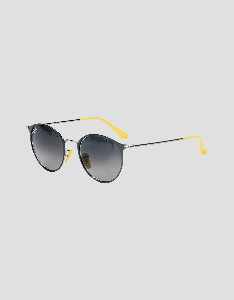 Scuderia Ferrari Online Store - Ray-Ban x Scuderia Ferrari RB3602M blue and gunmetal sunglasses - Sunglasses