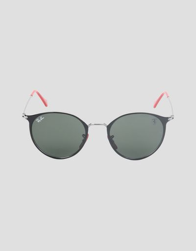 Ray-Ban x Scuderia Ferrari RB3602M black and gunmetal sunglasses
