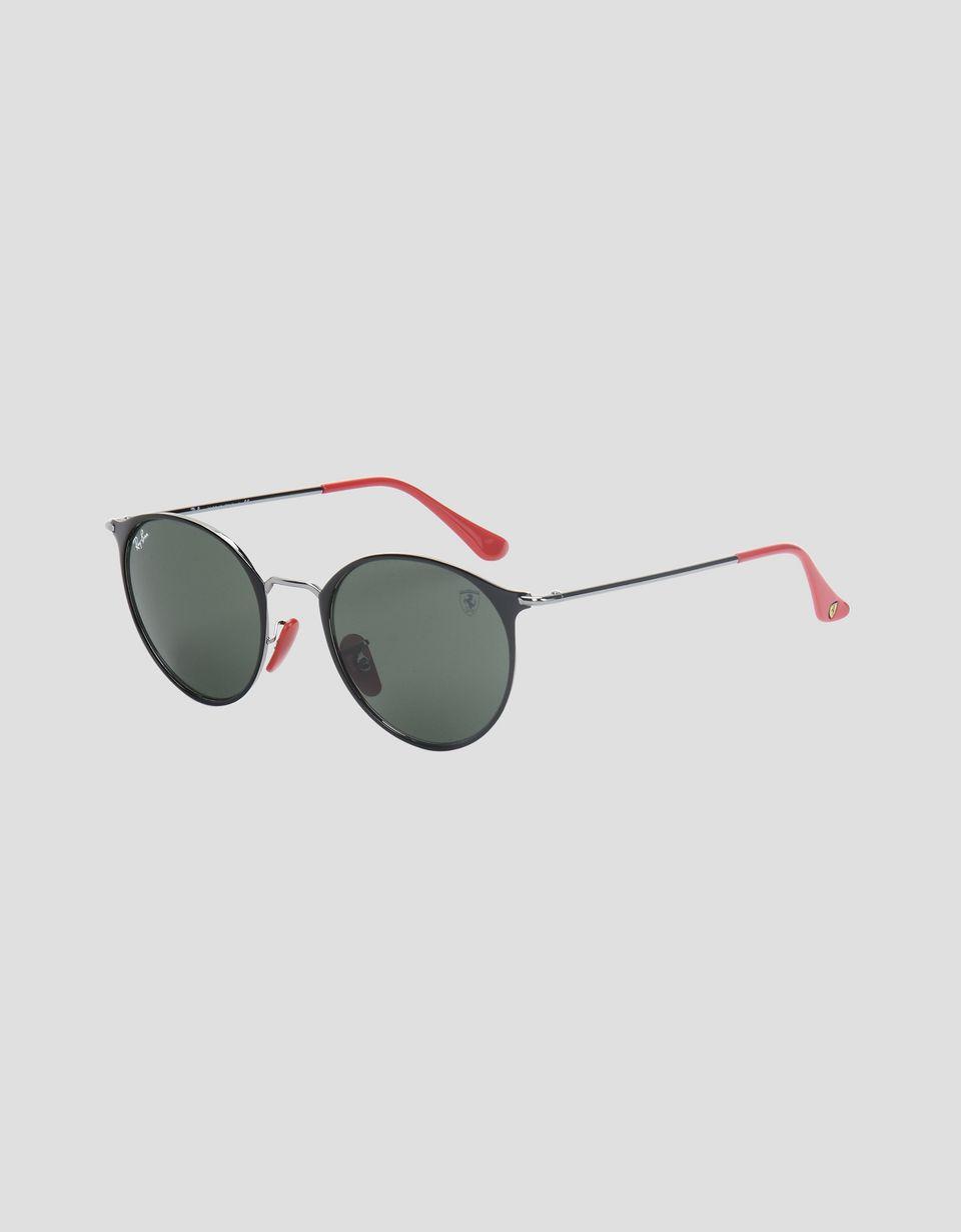 Scuderia Ferrari Online Store - Ray-Ban for Scuderia Ferrari RB3602M  nero e canna di fucile - Occhiali da Sole